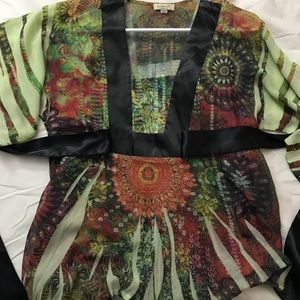 One World bohemian empire waist size M